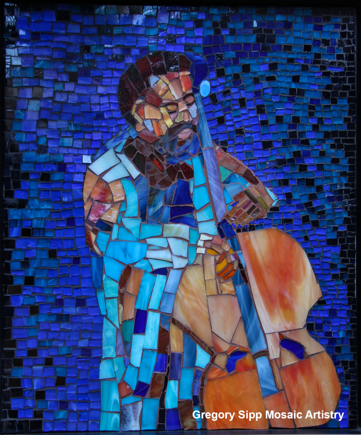 View this Rare Mosaic of Charles Mingus